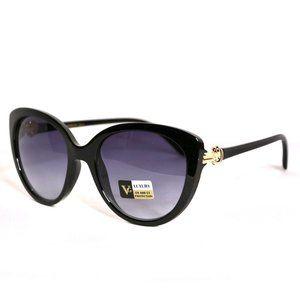 Fashion Black  Cateye Sunglasses